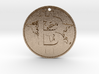 World Bitcoin Medal 3d printed