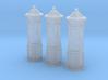 SET 3x Penfold Pillar Box (N 1:160) 3d printed
