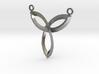 Inverted Celtic Knot Medallion 3d printed