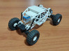 Losi Micro Rock Crawler 3D printed KIT 3d printed Losi micro rock crawler 3D printed chassis (mounted - rear view)