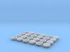 Deckel für 12 Wasserbomben 1:100  3d printed