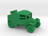 1/100 Scale Morris Armored Car 3d printed