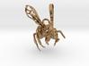 Western Honey Bee Pendant 3d printed