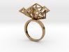 Geometric Jungle Ring 3d printed
