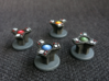 IA Terminal Set 2 3d printed Model not supplied painted