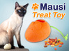 Mausi - Treat Dispenser for Cats 3d printed