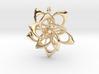 Petal Rings 5 Points - 2 Tiers - 4cm - wLoopet 3d printed