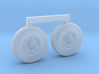 4801 - 1/48 S-3B Viking corrected ft wheels for AM 3d printed