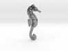 Santa Cruz Seahorse Pendant 3d printed