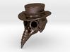Plague Doctor Skull 3d printed