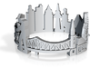 Ring Frankfurt US10 3d printed