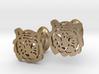 Tiger Cufflinks 3d printed