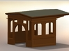 On30 Forney 1870s Conversion Wooden Cab 2-4-4T to  3d printed