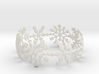 Snowflake Bangle (small) 3d printed