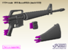 1/9 M16 Assault rifle (model 602) 3d printed