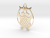 OWL Keychain 3d printed