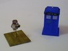 1/87 Scale V.I.N.Cent-E 3d printed Starvihawk says ; V.I.N.Cent wants to meet the Doctor.
