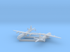 1/1200 Shaanxi Y-8 AF Anti-submarine aircraft 3d printed