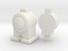 CGI LAMPS 00/HO Scale (Pair) 3d printed