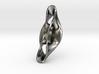 Triple Cube Silver 056 3d printed
