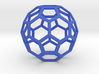 1 Inch Soccer Ball Wireframe 3d printed
