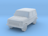 Lada-Niva (1:200) 3d printed