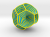 0413 Spherical Truncated Octahedron #005 3d printed