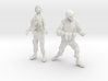 1-24 Military Zombie Set 4 3d printed