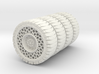 46mm airless tires 3d printed