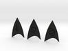 Star Trek Online Combadge Set 3d printed