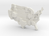USA by Family Size 3d printed