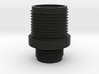 Pistol Muzzle Adapter (11mm+ to 14mm-) 3d printed