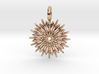 Jasmine Sambac is extraordinary 3d printed Jasmine in Rose Gold is extraordinary