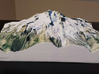 Glacier Peak, WA, USA, 1:25000 3d printed Actual photo of model, viewed from the East; by D. Stockton