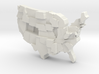 USA by Obesity 3d printed