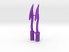 TR: Daggers for Mindwipe 3d printed