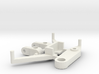 SP2 Spare Parts for CK2 Chassis Kit 3d printed This is what you'll receive if ordered in white.