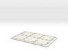 Creditcard Dice 3d printed