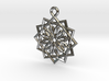 12 pointed star earring 3d printed