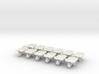 Wheelbarrow 01. 1:64 Scale 3d printed
