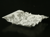 """3'' Grand Canyon Terrain Model, Arizona, USA 3d printed Photo of 3"""" model, looking WSW; at left is the South Rim."""