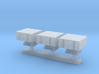 1:350 Scale Mk 25 BMPDS Sea Sparrow Launchers (Fla 3d printed