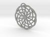 Labyrinth Pendant - Large 3d printed