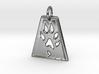 Small Ferret Paw Print - Geometric 3d printed