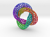 The other Klein bottle (color 2, triple twist) 3d printed