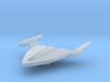 Warp Delta 1/4400 Attack Wing 3d printed