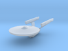 Constitution Class (Phase II) 1/4800 Attack Wing 3d printed