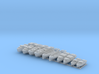 1/350 WW2 RN Boat Set 3 without Mounts 3d printed 1/350 Scale WW2 RN Boat Set 3 without Mounts