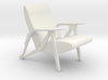 Printle Thing Chair 01 - 1/24 3d printed