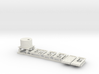 7mm LH Door Detail Parts for Platform Signal Box 3d printed